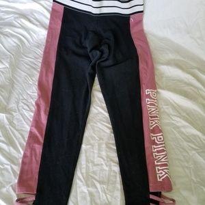 PINK capri pink and black, L